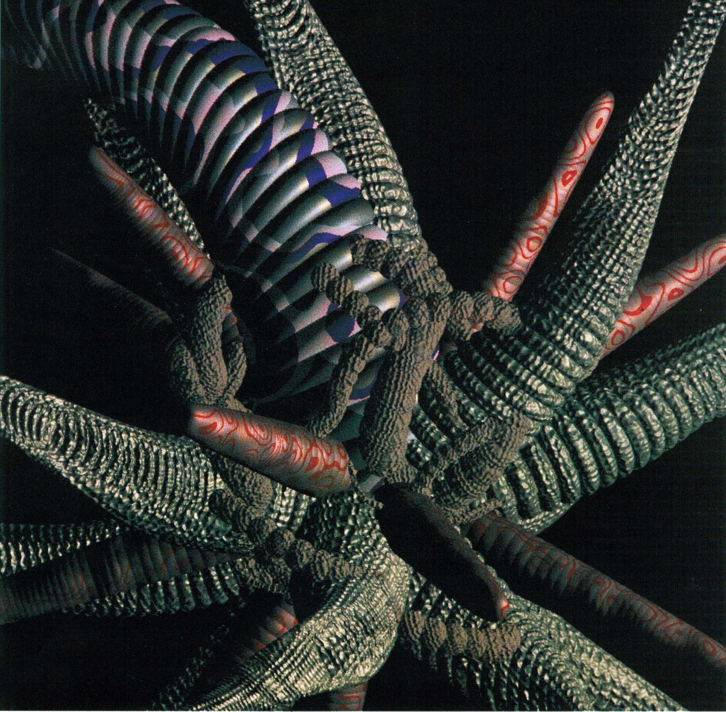 William Latham, Coiled Form, 3D animation, 1987